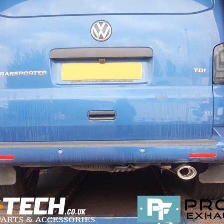 VW Transporter T5 Custom Exhaust Stainless Steel