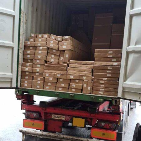 Van-Tech VW Transporter Parts Delivery