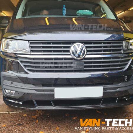 VW Transporter T6.1 Front Lower Splitter