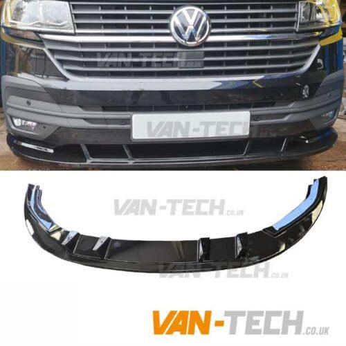 VW Transporter T6.1 Front Lower Splitter Fits Models with Standard Bumper