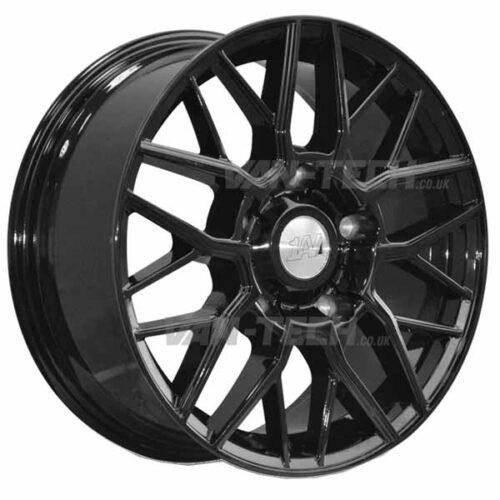 "1AV ZX11 Alloy Wheels Ford Transit 18"" Gloss Black"