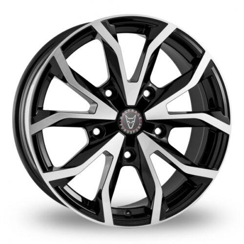 Wolfrace Assassin TRS Ford Transit Alloy Wheels Matte Black