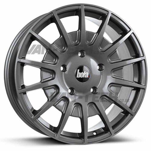 Bola B21 Alloy Wheels Ford Transit Gloss Grey 20″