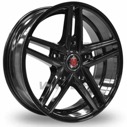 Axe Ex-14 Ford Transit Alloy Wheels Gloss Black