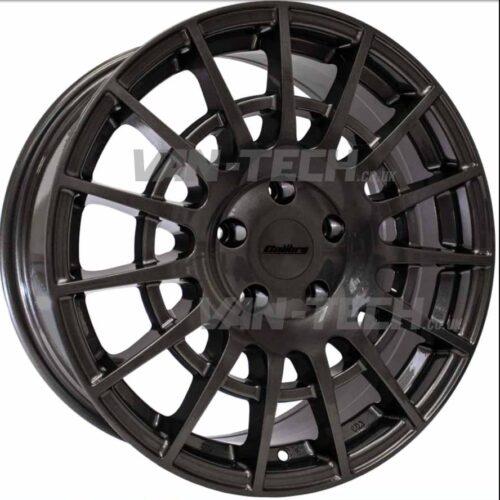"Calibre T-Sport Ford Transit Alloy Wheels Gun Metal 18"""