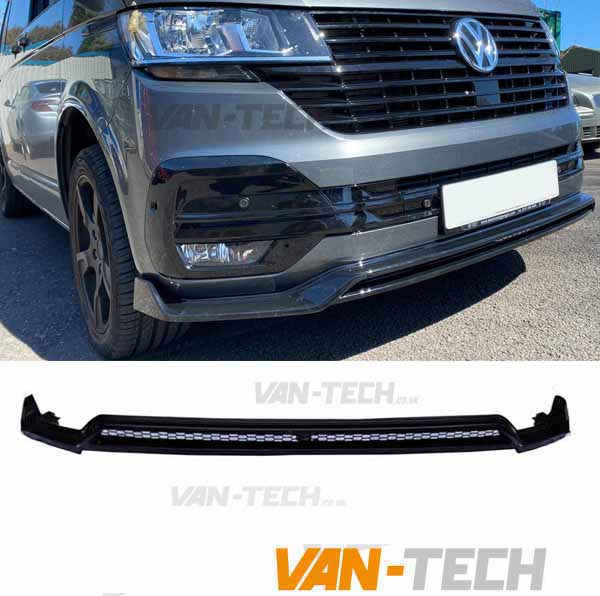 SPECIAL OFFER VW Transporter T6.1 Front Spoiler / Splitter fits Standard Bumper