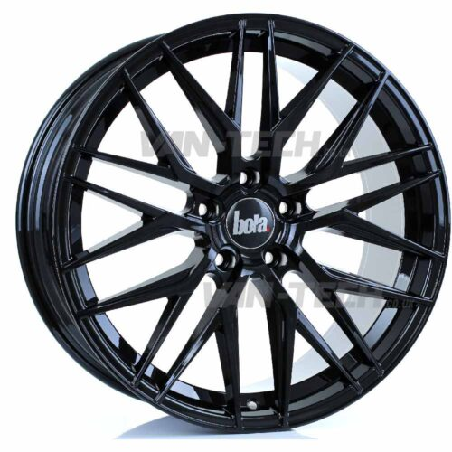 "VW T5 T5.1 T6 Bola B22 20"" Alloy Wheels Gloss Black"