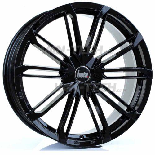 "VW T5 T5.1 T6 Bola B23 20"" Alloy Wheels Gloss Black"