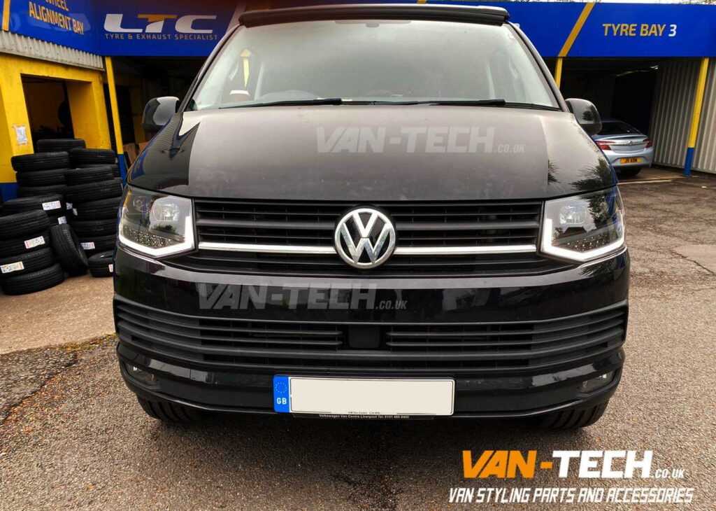 VW T6 LED DRL Light Bar Headlights with Dynamic Indicators