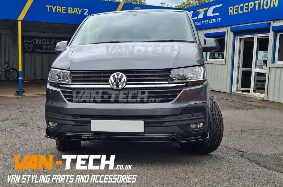 VW Transporter T6.1 Alloy Wheels Side Bars and Lower Splitter / Spoiler