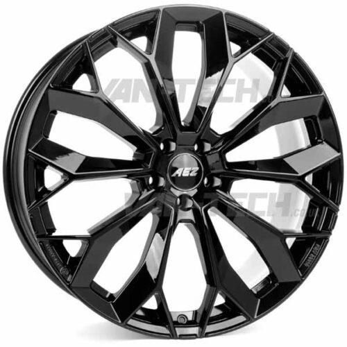 "VW T5 T5.1 T6 AEZ Leipzig 20"" Alloy Wheels Gloss Black"