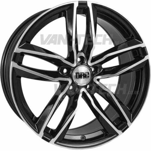 "VW T5 T5.1 T6 DRC DAA 20"" Alloy Wheels Black / Polished"