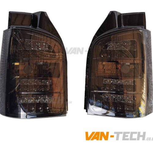 VW T5 T5.1 LED Smoked Rear Lights Tailgate Only