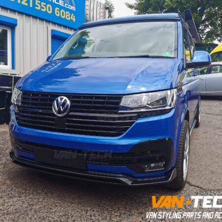 VW Transporter T6.1 Front Styling Parts Grille, Lower Splitter and Side Bars