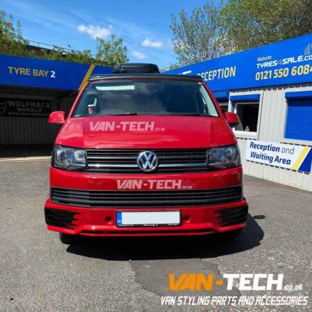 VW Transporter T6 Parts Sportline Bumper, Rear Spoiler and More!