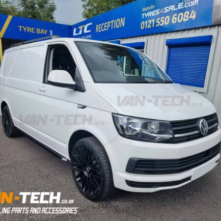 VW Transporter T6 Parts and Accessories Side Bars, Alloy Wheels and Roof Rails